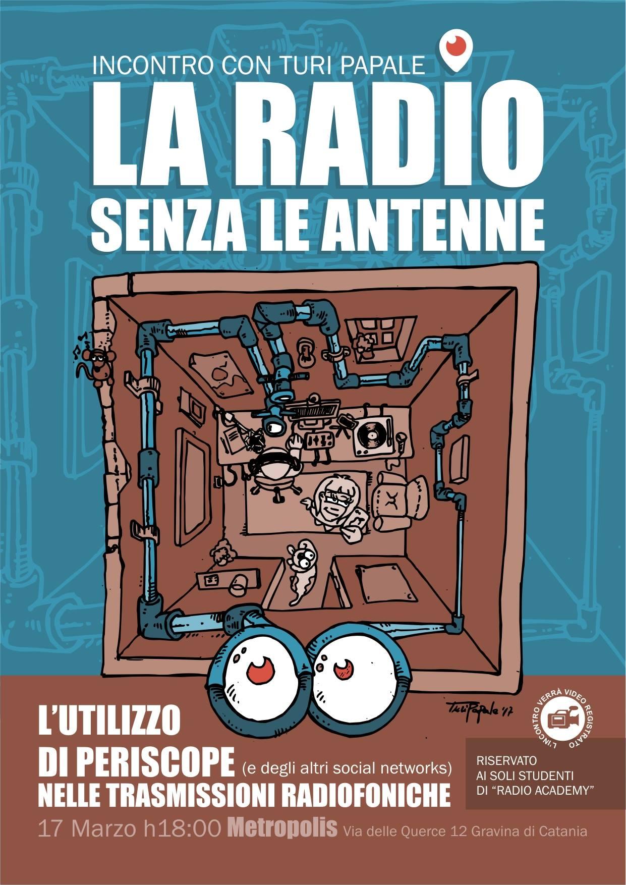 La radio senza le antenne.