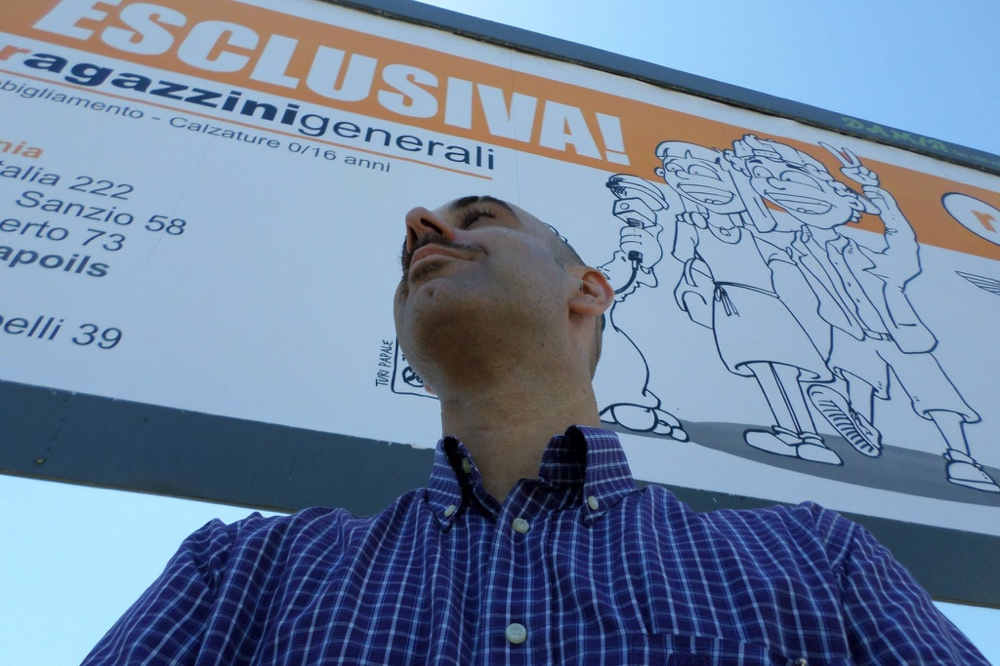 "✏️ Hand Made Poster for ""Ragazzini Generali"" (c) Turi Papale"